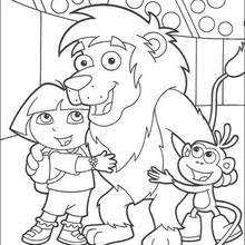 Doras Friends The Best Coloring Page