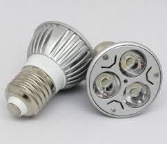 3w led bulb with high quality material small flood light e27 220v