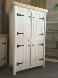 Kitchen Pantry Storage Cabinet Free Standing by Updating A Pine Wardrobe Pantry Cupboard Kitchen Pantries And