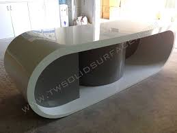 Modern Tall Office Desk Tables White Table Computer