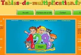 jeux et tables de multiplication les mathématiques au collège
