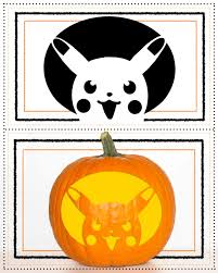 Darth Vader Pumpkin Carving Ideas by Pokemon Pumpkin Carving Templates Molrol Com