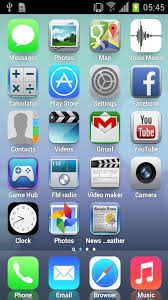 IOS 7 launcher Apk RUI IPhone v1 0 free