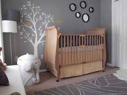 foxy image of pink grey unique baby nursery room decoration