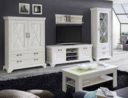 wohnzimmer kasimir 33 pinie weiß 5 teilig led beleuchtung landhausstil