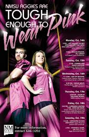 Prepare Your Pink Wardrobe; It's Tough Enough To Wear Pink Time ... Award Winners Office Of The President New Mexico State University Nmsu Insider Free Mobile App Auxiliary Services Aggie Express Housing Residential Life Activity Report August 14 20 Sallite Chilled Water Facility Increases Cooling Capacity On September 24 30 Renovation Corbett Center Student Union 27 2 Noche De Luminaries Brightens For 26th Consecutive Year Nmsu Hashtag Twitter Bookstore Offers More Than Just Books To Campus And
