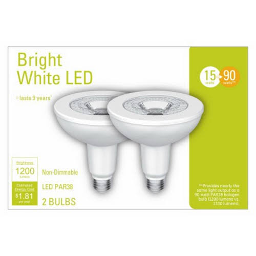 GE 32604 Outdoor LED Flood Light Bulb, 15 Watts