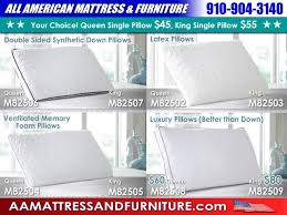 CLEARANCE – All American Mattress & Furniture