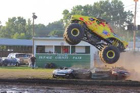 100 Truck Jumps Outback Thunda Monster Four Crushed Cars At The DuPage