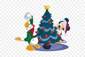 Christmas Tree Mickey Mouse Minnie Donald Duck Clip Art