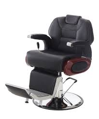 Fully Reclining Barber Chair by Carver Professional Barber Chair