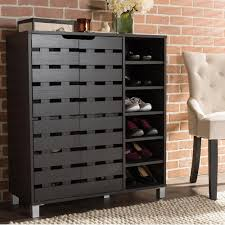 baxton studio shirley dark brown wood storage cabinet 28862 6477