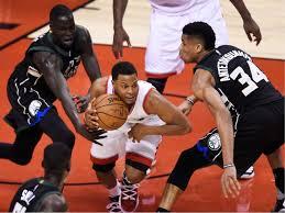 NBA playoffs Giannis Antetokounmpo scores 28 points Bucks beat