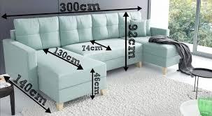 ecksofa niko wohnzimmer u form bettkasten schlafcouch skandinavisch eckcouch