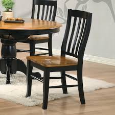 Mestler Side Chair By Ashley by Wood Dining Room Chairs Ideas