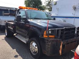 100 Used Tow Trucks 1999 Ford SUPER DUTY F550 SELF LOADER TOW TRUCK 73 POWERSTROKE TURBO DIESEL LOW MILES At MORE THAN TRUCKS Serving Massapequa NY IID
