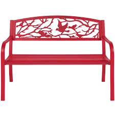 Ebay Patio Table Cover by Rose Red Steel Patio Garden Park Bench Outdoor Living Patio