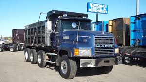 100 Tri Axle Dump Trucks 2000 Mack CL713 Truck Stock4977 YouTube
