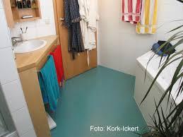 kork einsatz im bad verarbeitung bei feuchtigkeitsbelastung