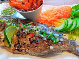 le meilleur de la cuisine antillaise poisson grillé et sa sauce chien je cuisine créole