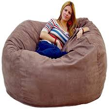 cozy sack 5 bean bag chair large earth kitchen
