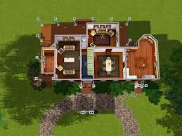 Sims 3 Floor Plans Small House by The Sims 2 House Floor Plans