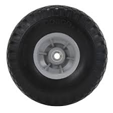 Cosco 10 In. X 3 In. Flat-Free Replacement Wheels For Hand Trucks (2 ...