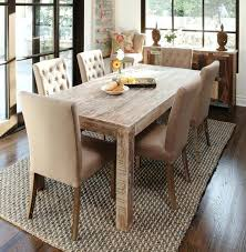 Rustic Dining Set White Distressed Table Round Farmhouse Counter Height Black