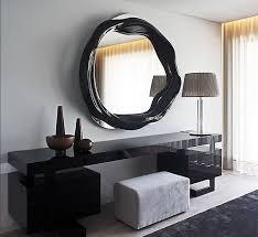 twisted spiegel small schwarz