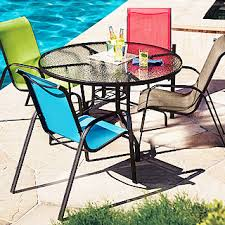 Stacking Sling Patio Chairs by Sienna Sling Chairs U0026 Table True Value
