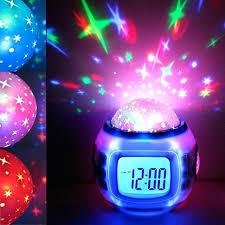 horloge chambre bébé horloge chambre bebe led de projection bacbac enfants numacrique