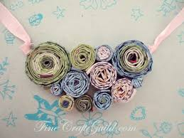 DIY Recycled Paper Bead Necklaces Free Online Quilting Beginners Class Cool Craft For Older Kids