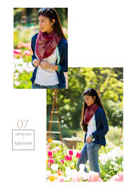 27 stylish ways to wear a scarf with pictures