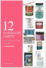 Americana Decor Chalky Finish Paint Colors by What U0027s The Best Paint For Furniture Thrift Diving Blog