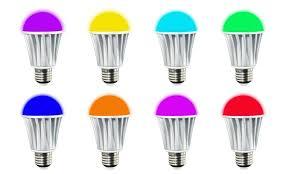 11 on bluetooth smart led light bulb groupon goods