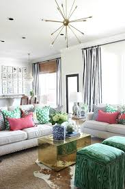 Green Striped Curtain Panels by How To Make A Lined Curtain Panel Black And White Striped