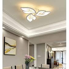 modern wohnzimmer schlafzimmer deko led le deckenleuchte dimmbar mit fernbedienung deckenle blume design decke pendelleuchte acryl schirm für