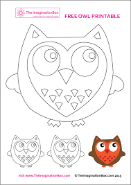 Owl Pumpkin Template by Free Owl Printables And Patterns For Fall Scrapbooking