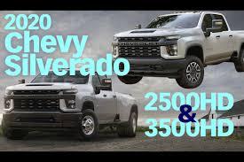 100 Chevy 2500 Truck 2020 Chevrolet Silverado HD Overview Work Magazine