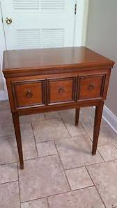 Vintage Kenmore Sewing Machine In Cabinet by Vintage Kenmore Sewing Machine Cabinet Model 52 Ebay