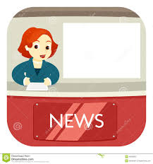 News Anchor On Air Stock Photo Image Of Announcer Channel