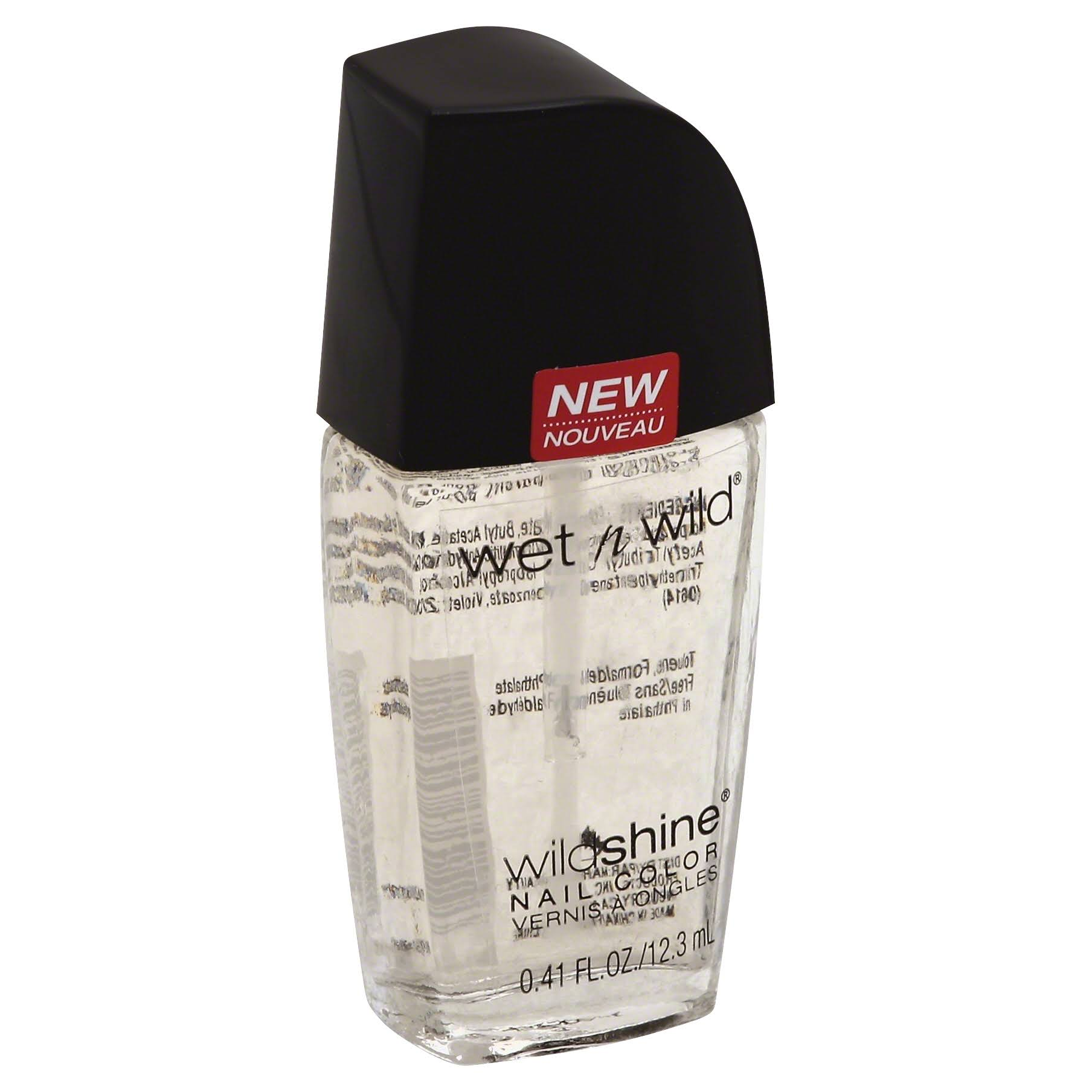 Wet N Wild Wild Shine Nail Color - Clear