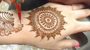 Full Video Easy & Simple Mehndi Design Cute Henna Mehendi For