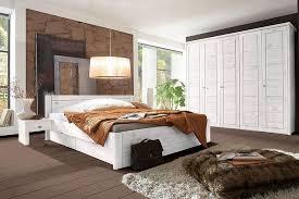 wohnglücklich vita schlafzimmer kiefer weiß möbel letz