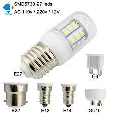 viewi bombillas 12v led bulb e27 e14 e12 b22 gu10 g9 home light
