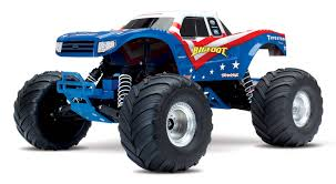 100 Bigfoot Monster Truck Toys Traxxas Gives Its A New Look RC Driver