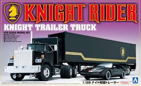 100 Knight Rider Truck Aoshima 128 Trailer 30660 Amazoncouk Toys