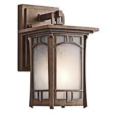 soria craftsman style outdoor wall lantern outdoor lighting