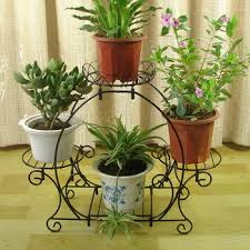 Buy Arch Style Multi Layer Iron Flower Stand Balcony Diaolan Fashion French Rustic
