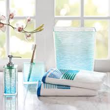 overstock com madison park seaglass bath accessory 5 piece set